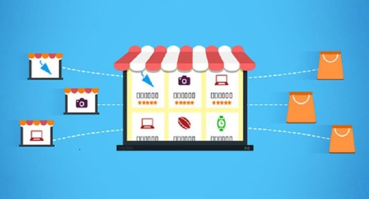 موقع تسوق متعدد البائعين للبيع